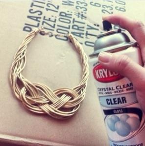 Krylon Crystal Clear Gloss Spray ($10.98, Walmart, Amazon, or Michaels)