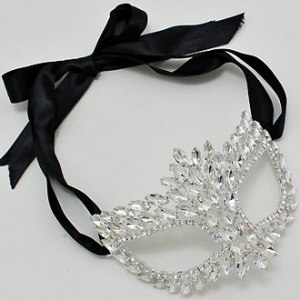 Marquise Crystal Mask $22